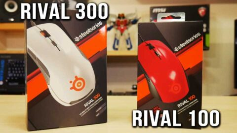 Superior control: Steelseries Rival 100, 300 Gaming
