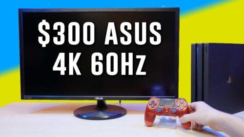 SURPRISINGLY CHEAP Asus VP28U 28″ 4K 60Hz (no HDR)