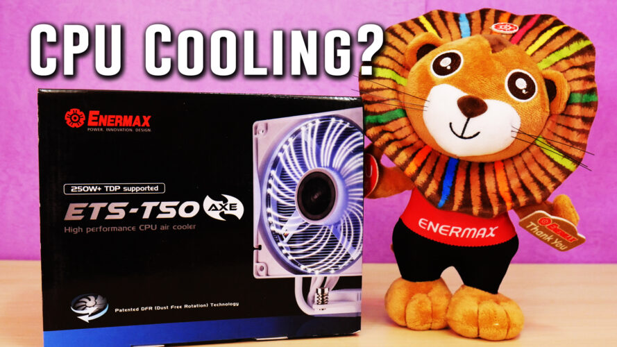 PLEASED with the Enermax ETS-T50 all-white CPU cooler