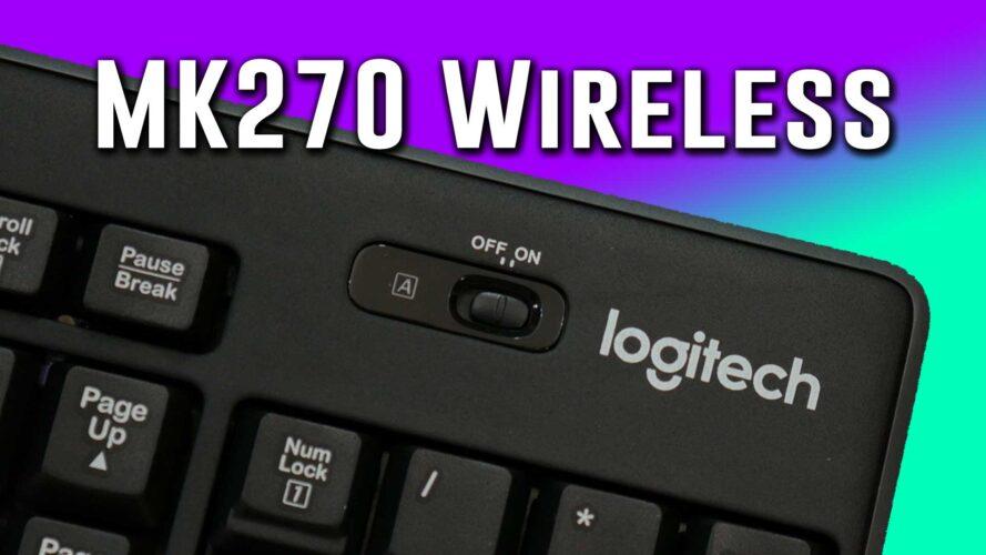 AMAZING combo- Logitech MK270 budget wireless kb+mouse