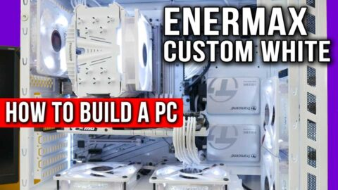 How to Paint a PC case / How to Build a PC / #1 beautiful white build