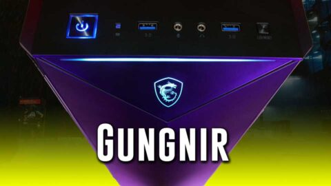 BOLD triangular MSI Gungnir 100 case