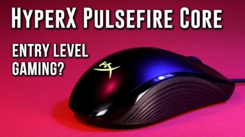 SUPERIOR performance at $30- HyperX Pulsefire Core RGB Gaming Mouse