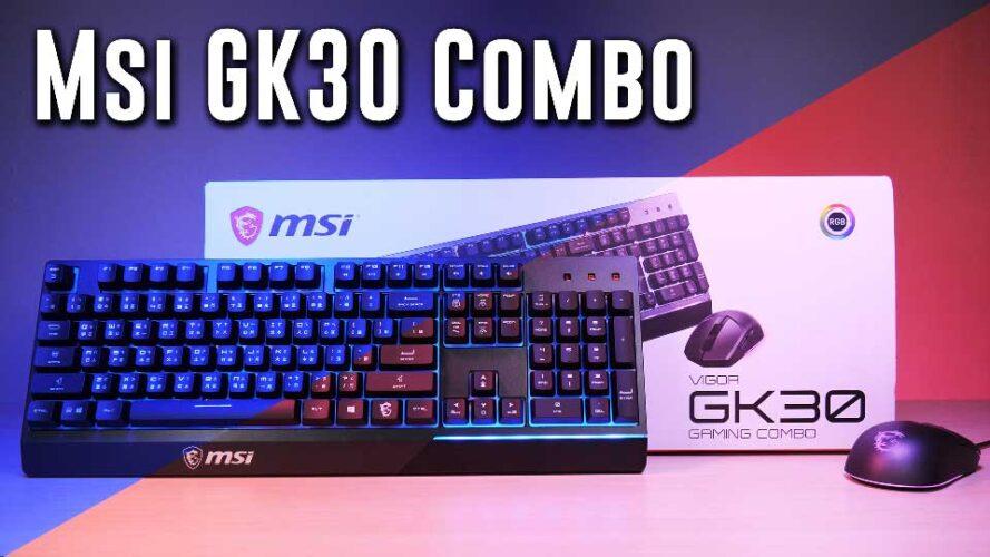SENSATIONAL MSI Vigor GK30 kb+mouse combo