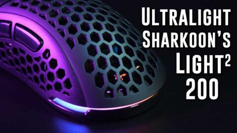 AMAZING & Precise! Sharkoon Light2 200 gaming mouse