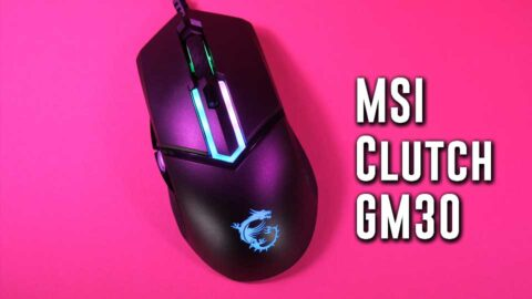 GREAT performance? MSI Clutch GM30 gaming mouse
