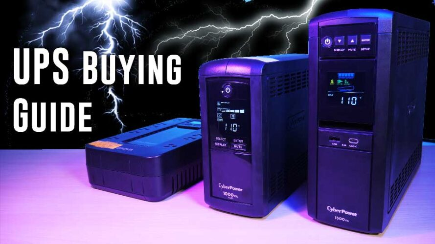 UPS BUYING GUIDE- Techspin stamina tests 3 great Cyberpower units