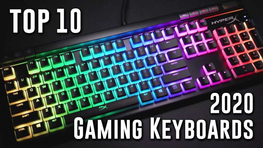 Techspin Top 10 Gaming Keyboards! SUPERCHARGE your gaming