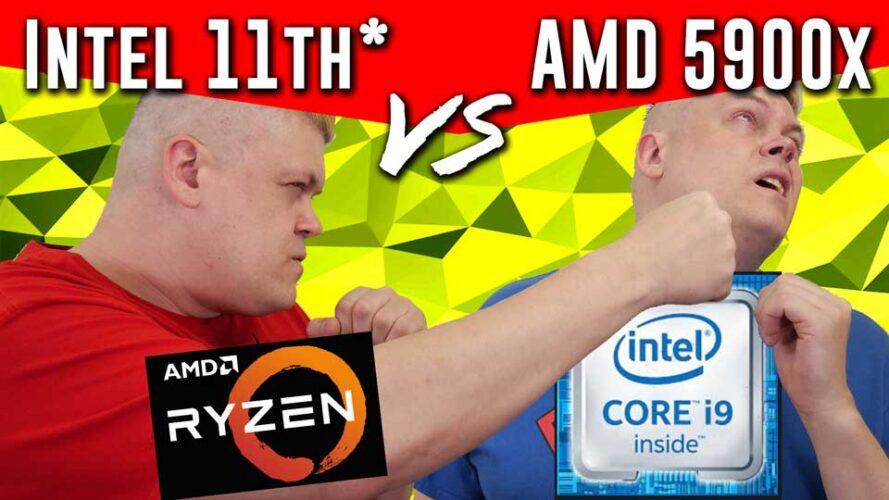 Intel vs AMD- Core i9-11900K Premiere* / AMD 5900x great in gaming/productivity?