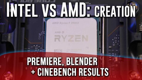 Intel vs AMD Creation- 3900X destroying, Techspin tested!